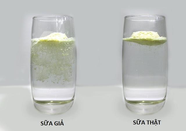 Cách nhận biết sữa thật sửa giả hoàn toàn đơn giản