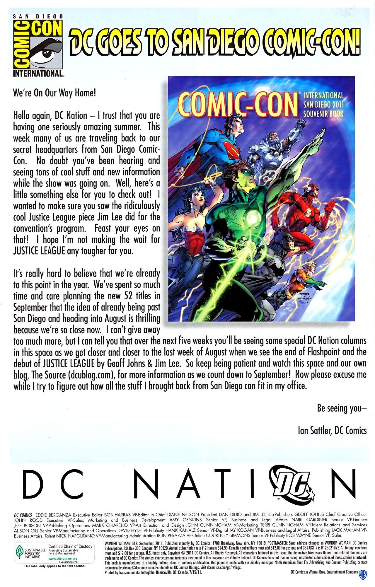Read online Wonder Woman (2006) comic -  Issue #613 - 24
