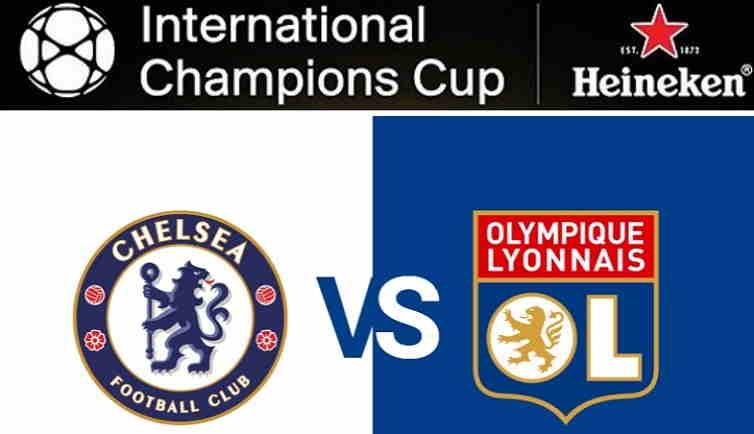 Hasil Chelsea vs Lyon Skor Akhir (5) 0-0 (4) [ICC 2018]