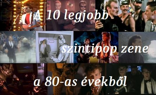 A 10 legjobb szintipop zene a 80-as évekből