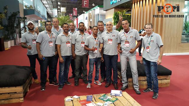 Montador de Móveis POM Movelpar 2017 Arapongas PR