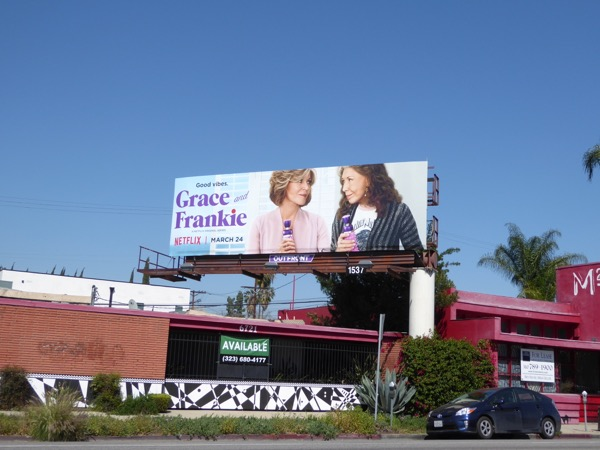 Grace Frankie season 3 billboard