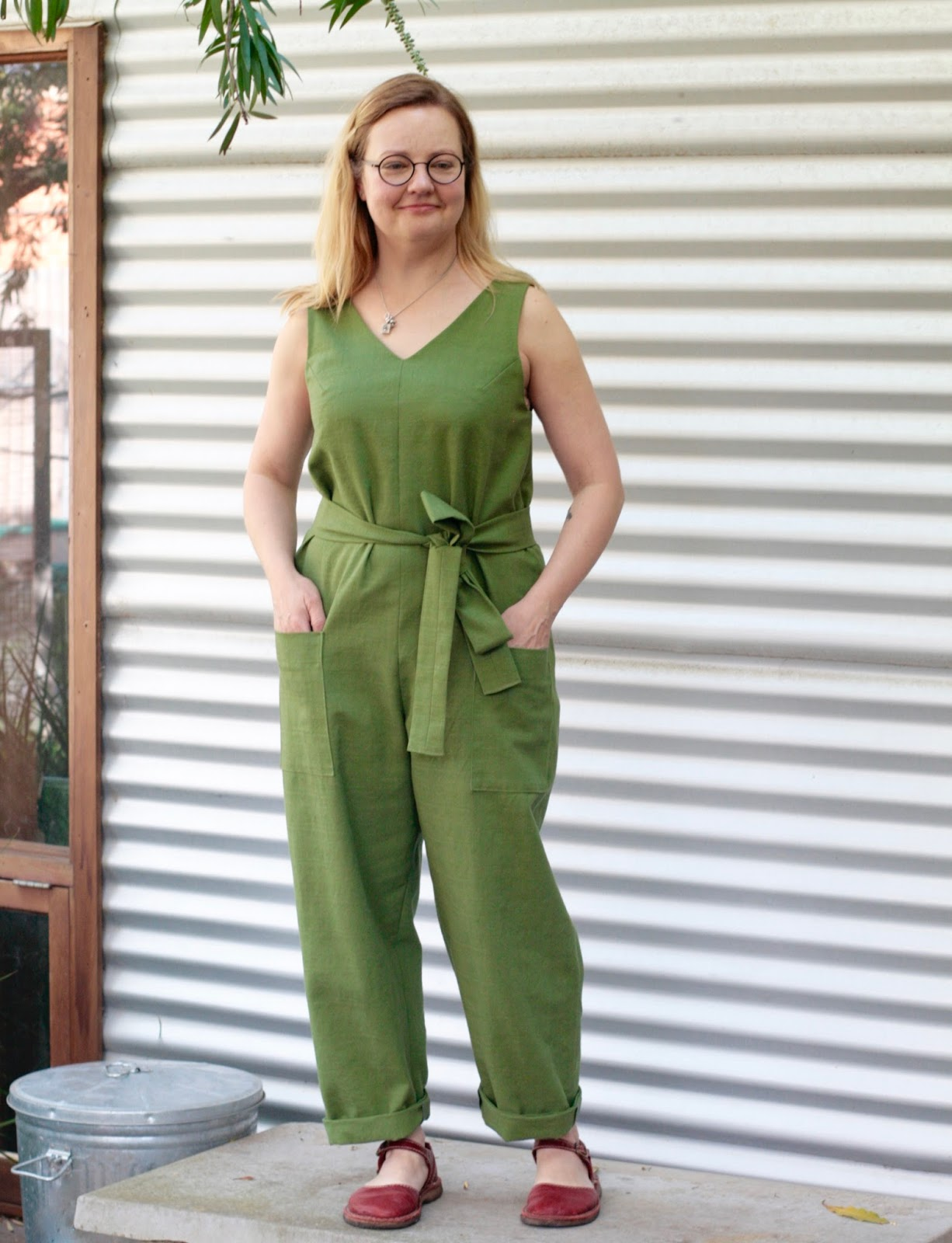 2ab4d486d23 THE DRAPERY  Pattern Review  In The Folds Jumpsuit (free pattern for ...
