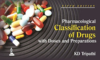 Pharmacological Classification of Drugs pdf free download kd Tripathi