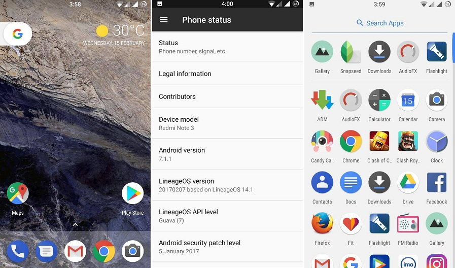 Pixel Rom for Redmi Note 3 Android 7 1 1 Based ~ MI BLOG