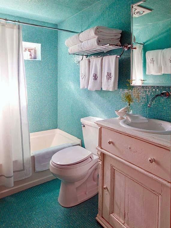 Small Bathroom Color Schemes: Bathroom Color Schemes For Small Bathrooms