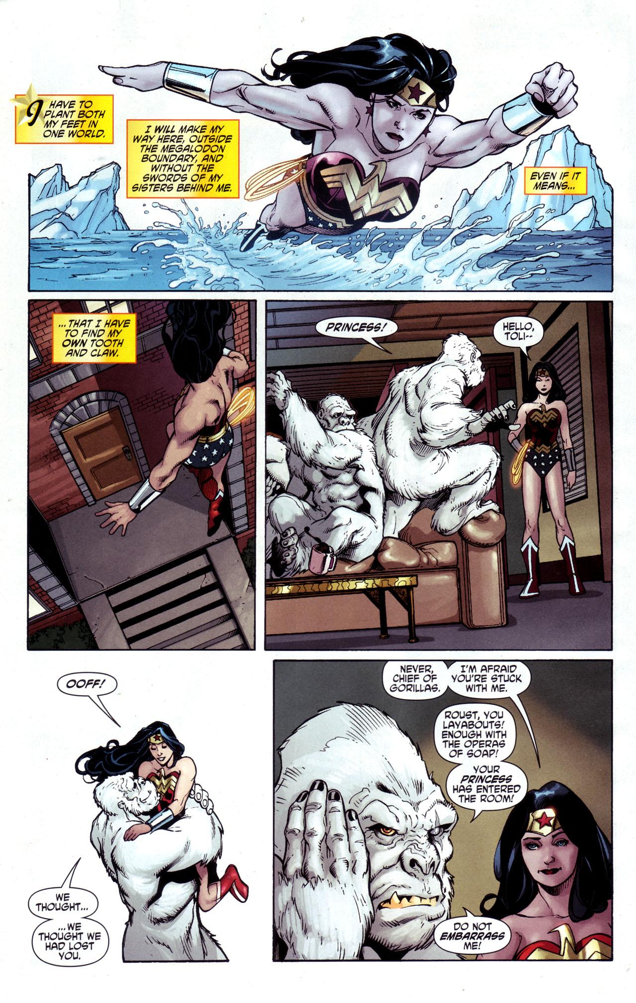 Read online Wonder Woman (2006) comic -  Issue #34 - 5