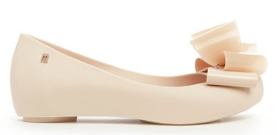 Daniel Footwear Melissa Ultragirl Twin Bow Blush Ballet Pump