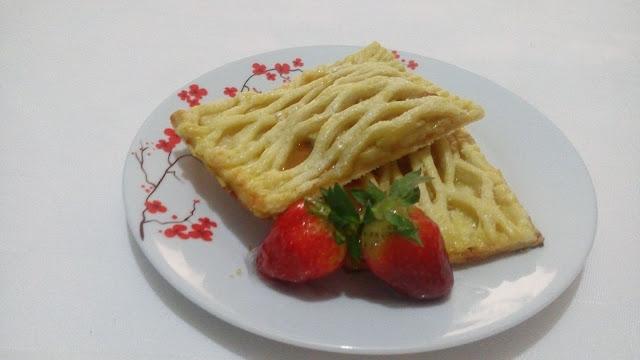 banana-puff-pastry, hojaldre-de-platano-con-caramelo