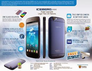 MyPhone Iceberg Mini Specs