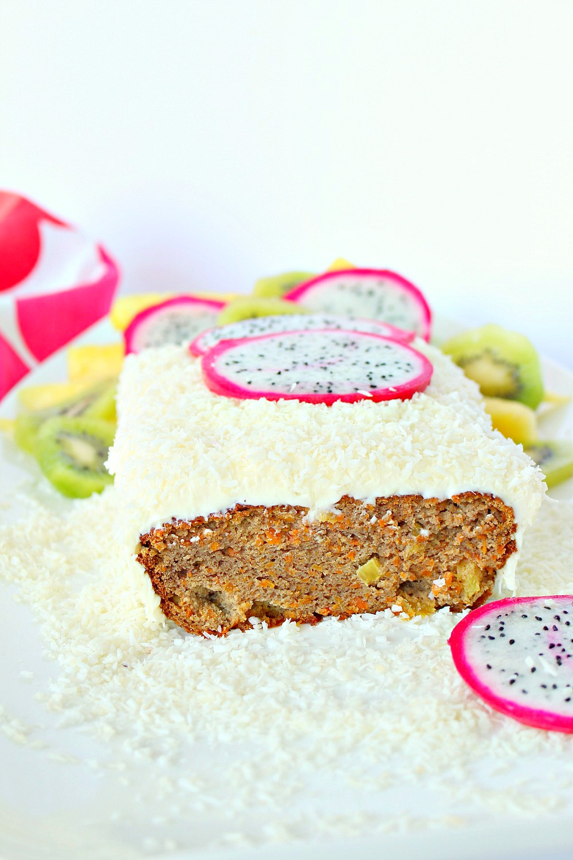 Refined sugar free carrot cake recipe