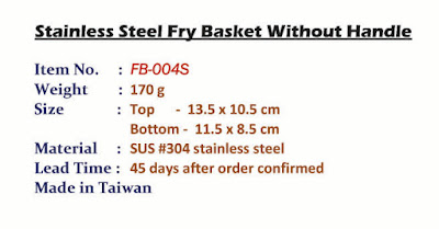 fry basket, mesh basket, metal basket, serving basket