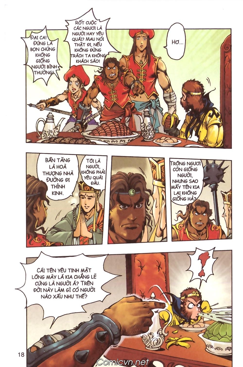 Tây Du Ký màu - Chapter 124 - Pic 15
