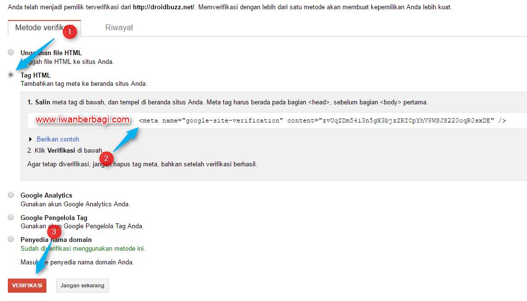 Menambahkan Peta Situs Pada Search Console Webmaster