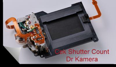 Cara Cek SC Shutter Count Kamera Dslr Canon