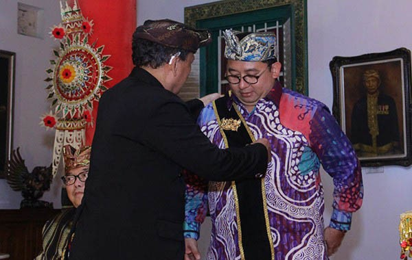 Picu Polemik, Puri Singaraja Cabut Gelar Sri Paduka Raja Fadli Zon