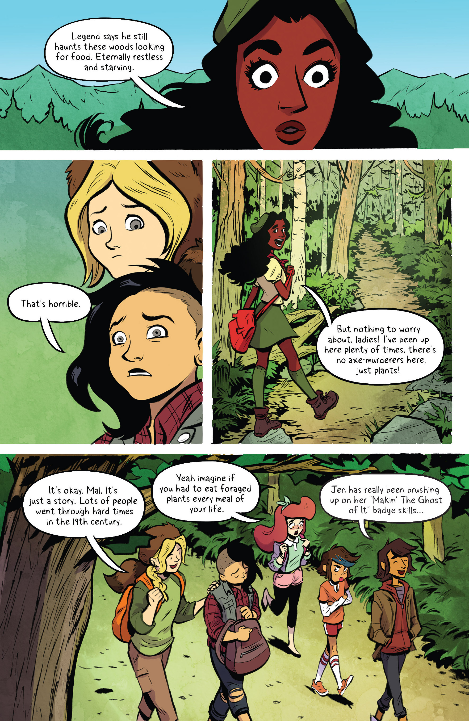 Read online Lumberjanes: Makin' the Ghost of It 2016 Special comic -  Issue # Full - 9