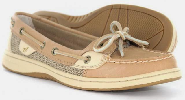 Rachel Ward Sperrys Boat Shoes