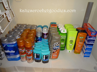 toiletries couponing