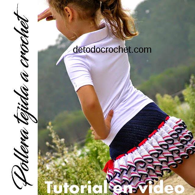 Patrones de Falda Tejida al Crochet / Tutorial en video | Todo crochet