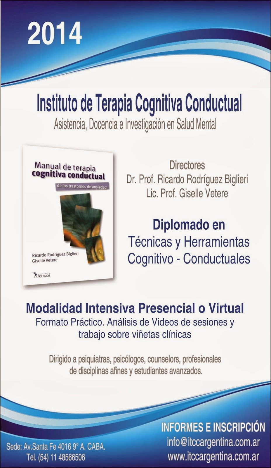 Instituto de Terapia Cognitiva Conductual