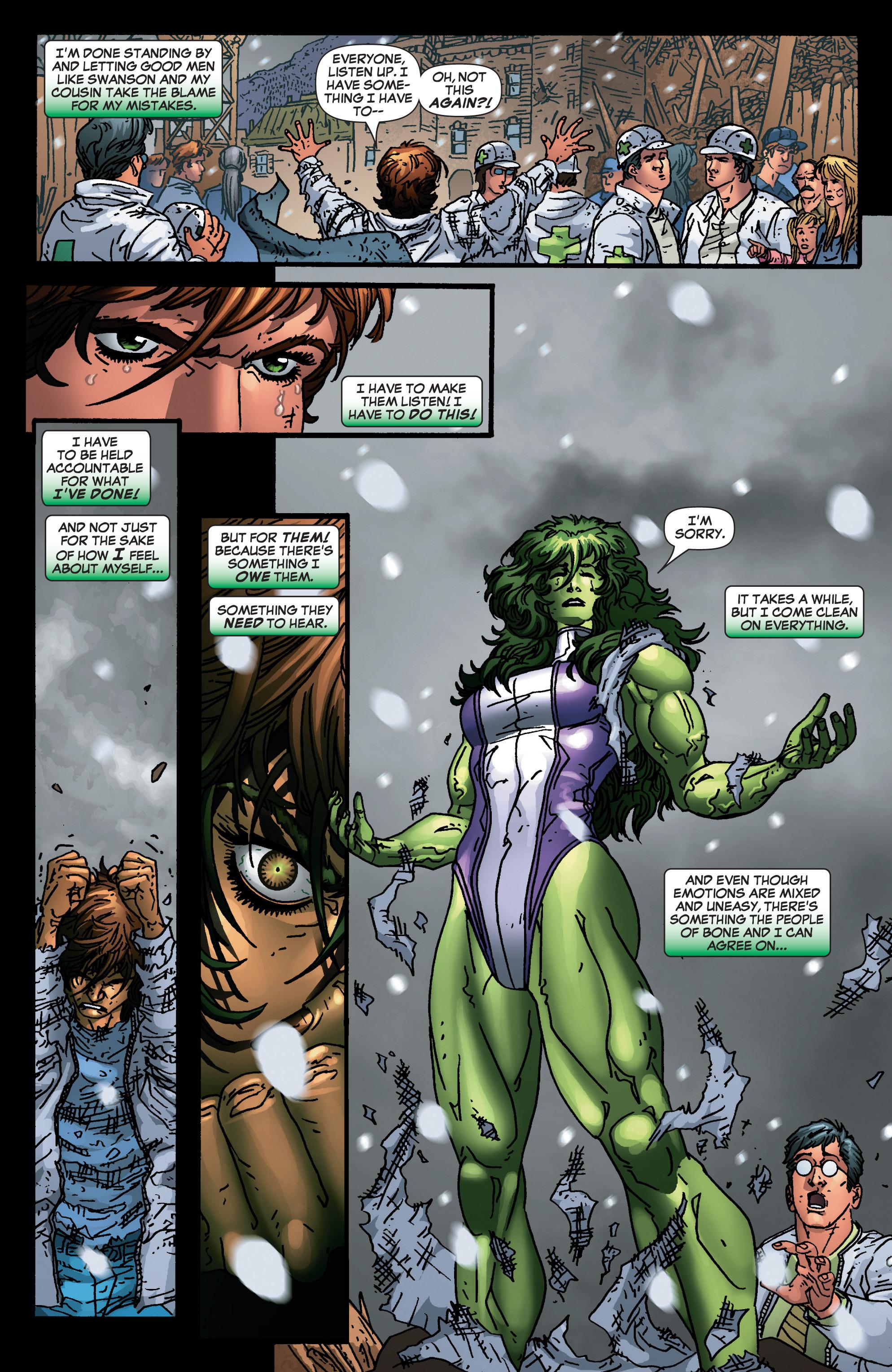 Read online She-Hulk (2005) comic -  Issue #4 - 21