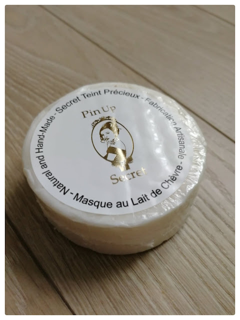 avis sur le savon au lait de chèvre pin-up secret