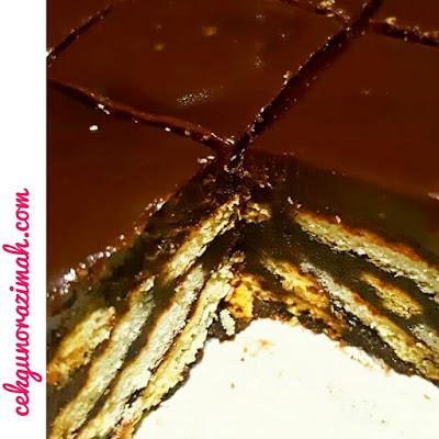 resepi kek batik, resepi kek batik bertopping, kek batik sedap, kek batik mudah, cara membuat kek batik, bahan-bahan membuat kek batik