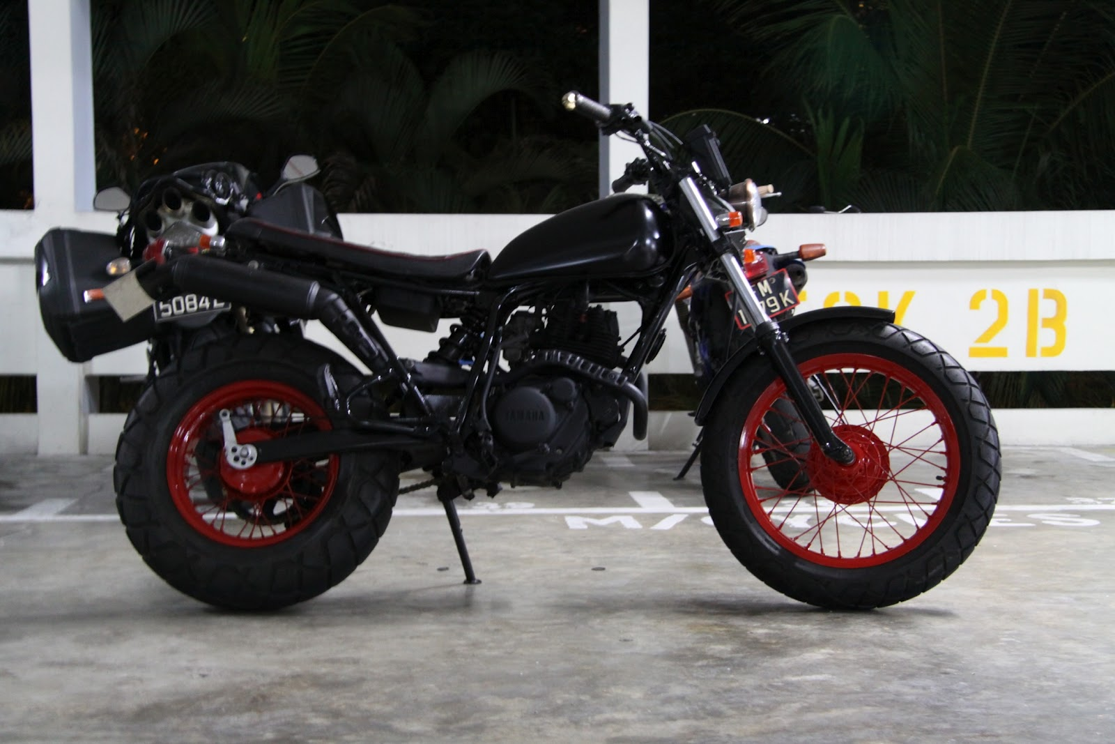 Custom TW200 by Custom Burner - Custom Burner