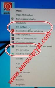 Cara Cepat Mematikan Komputer Windows 8