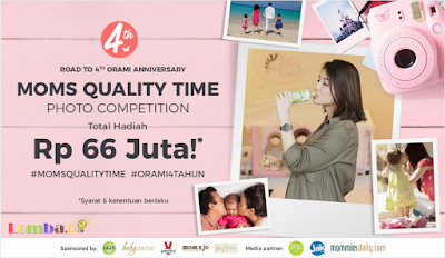Lomba Foto Moms Quality Time Photo Competition by Orami Untuk Umum
