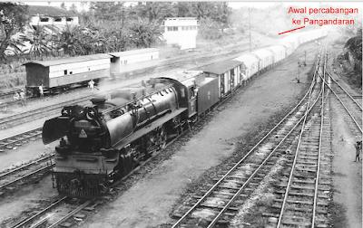 Jurusan kereta api Banjar - Pangandaran - Cijulang (yanuaridho.wordpress.com)