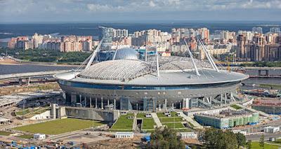 Stadion Saint Petersburg Rusia