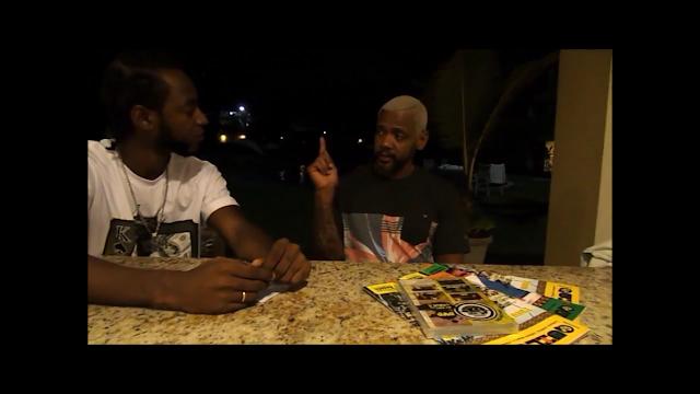 """Em meio a turnê """"Cores e Valores"""" na Bahia, o Edi Rock foi entrevistado pelo Negro Davi"""