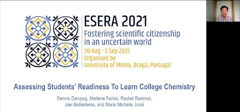 Study on Students' Readiness to Learn College Chemistry Presented in ESERA 2021