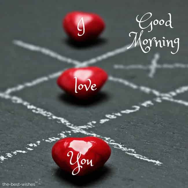 good morning i love you my dear love
