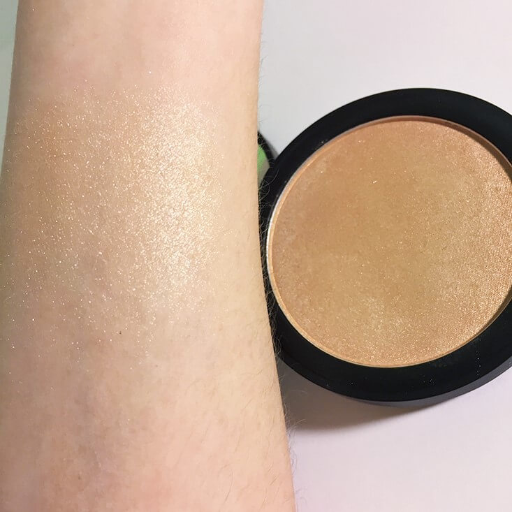e.l.f. Highlighting HD Powder Sunset Glow swatch
