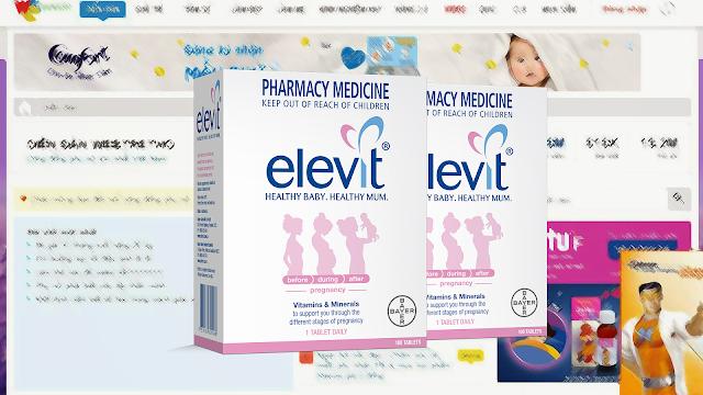 Bà bầu có nên uống thuốc bầu Elevit Úc?