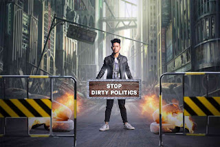 stop dirty politics photo manipulation