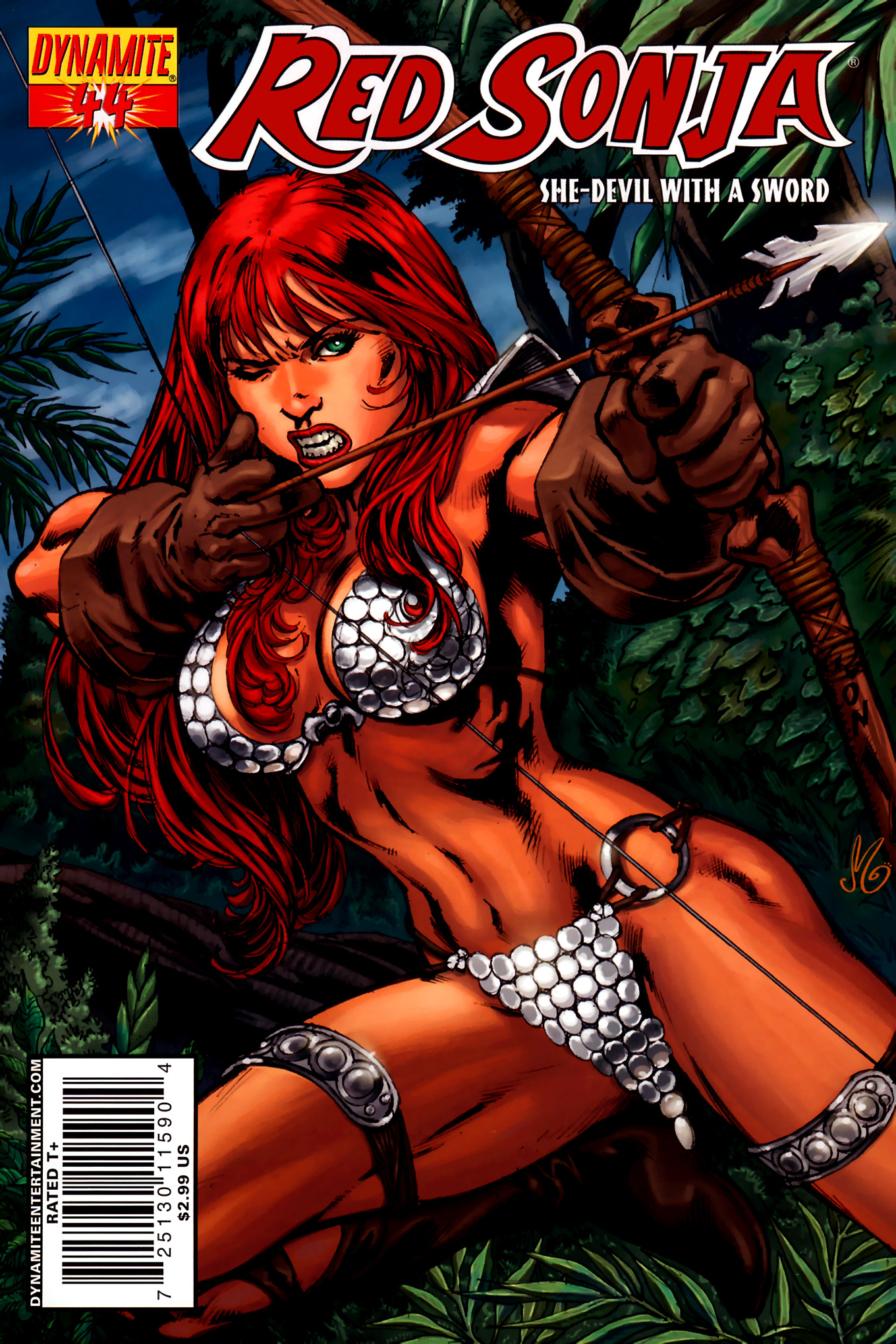 Read online Red Sonja (2005) comic -  Issue #44 - 2