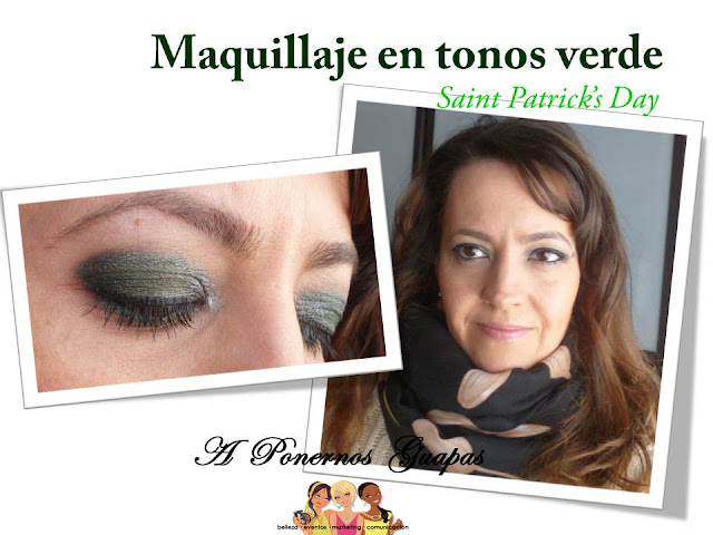 Maquillaje en tonos verde Giordani Gold y The One