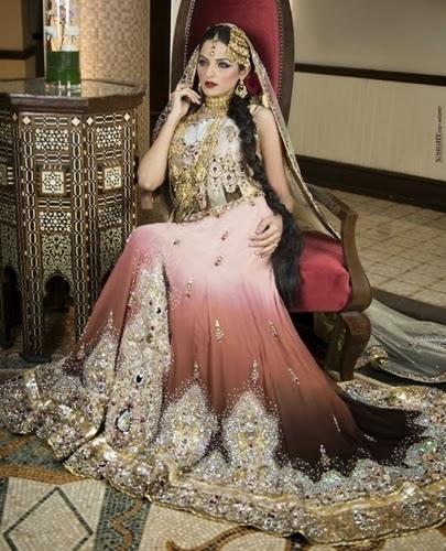 Bridal Dresses Fashion 2014-2015 In Pakistan