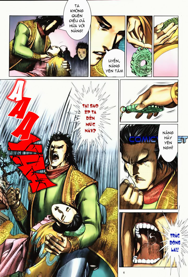 Anh hùng vô lệ Chap 10 trang 4