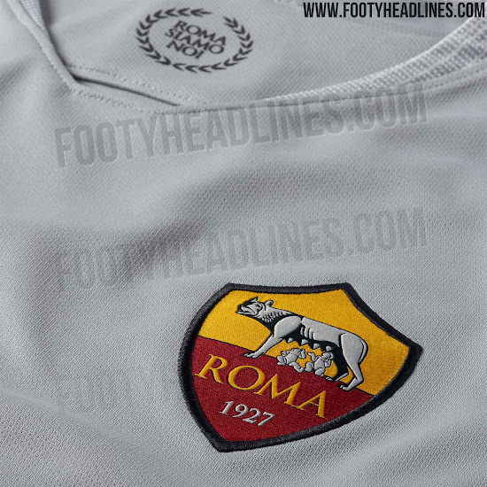 4889e8285 AS Roma 18-19 Away Kit Released - Footy Headlines