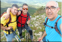 Peña Alta de Losa mendiaren gailurra 1.022 m. - 2018ko maiatzaren 27an