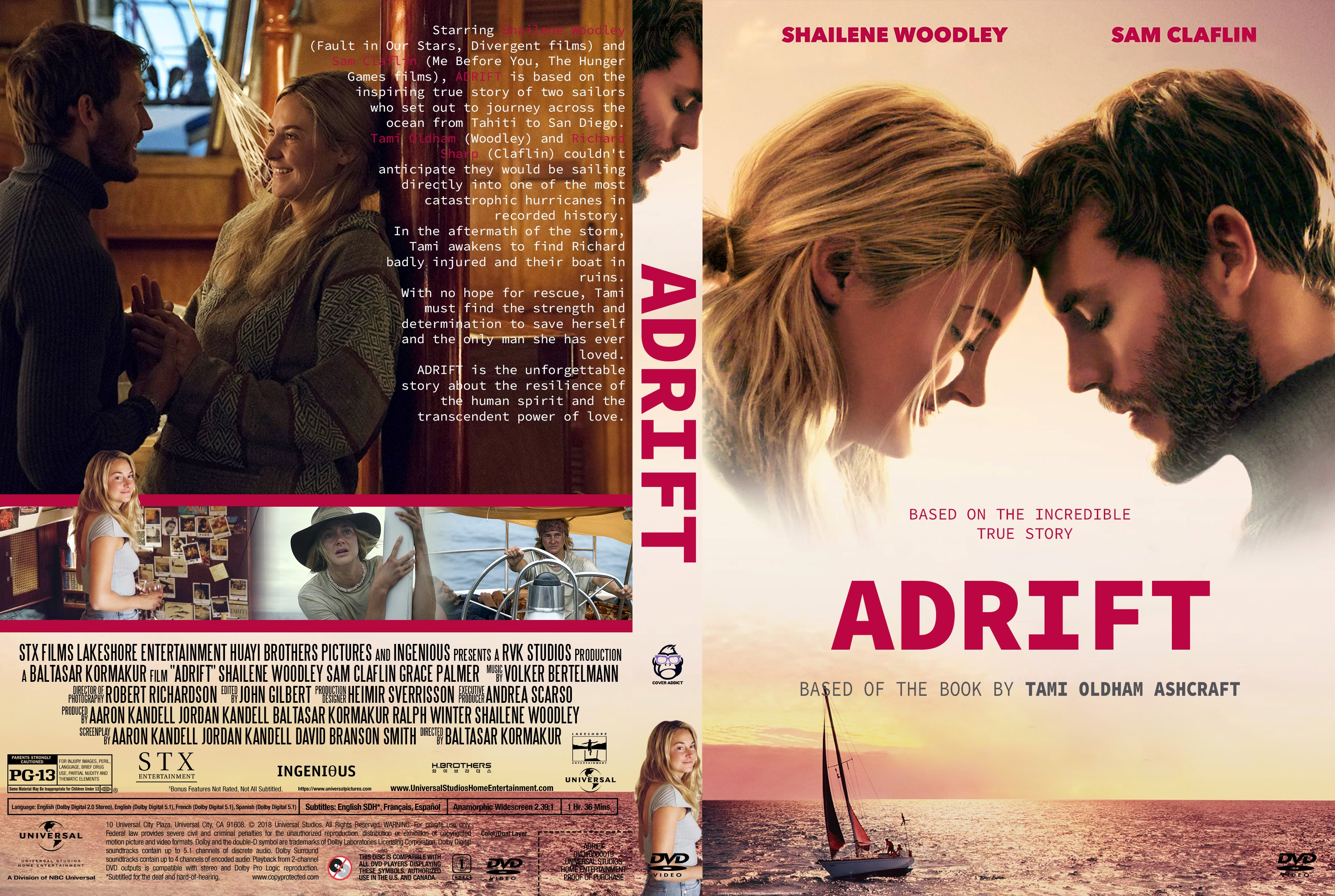 Adrift Dvd Cover Cover Addict Free Dvd Bluray Covers
