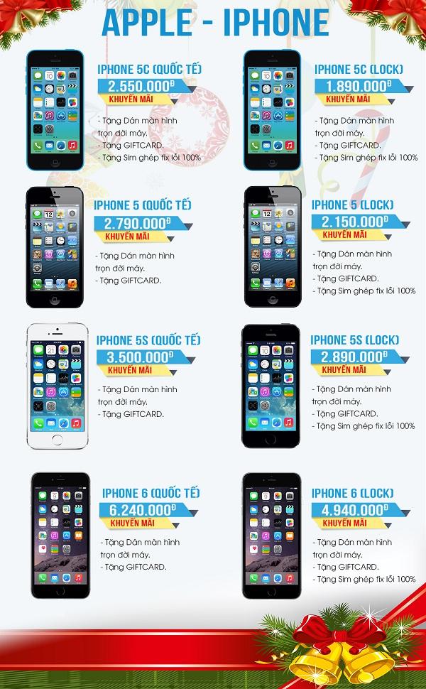 sản phẩm điện thoại được khuyến mại tại MaxMobile