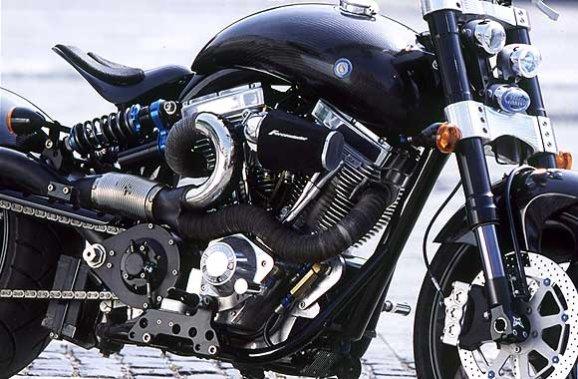 Confederate F124 G2 Hellcat Motorbike