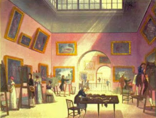 The Royal Institution  from The Microcosm of London (1808-10)