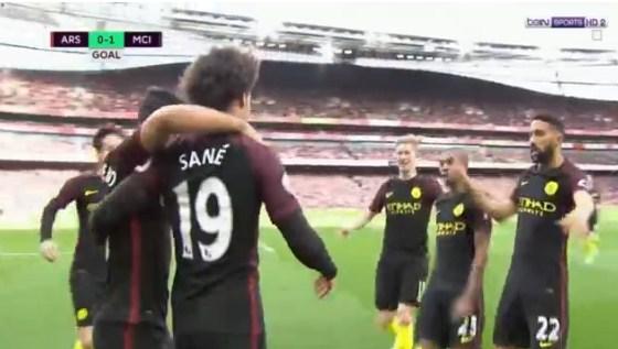 بالفيديو : ارسنال يتعادل مع  مانشستر سيتي بهدفين لكل منهما  اليوم  ضمن مباريات الدورى الانجليزى الاسبوع الثلاثين